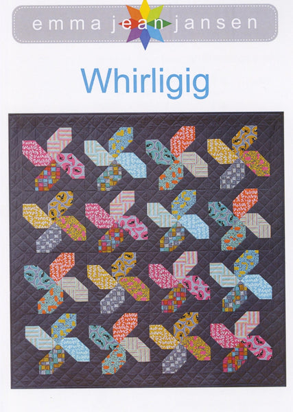 WHIRLING - quilt pattern