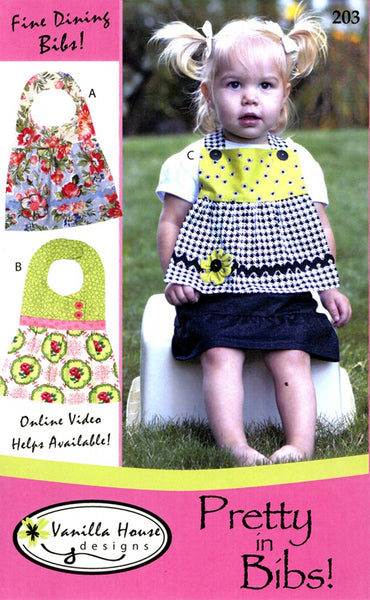 PRETTY IN BIBS! - bib pattern