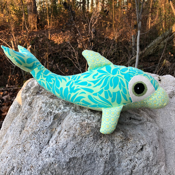 DOLPHIN STUFFED TOY - sample