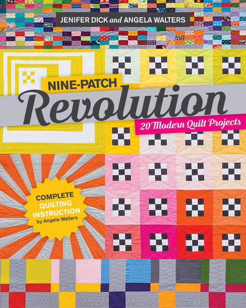 NINE PATCH REVOLUTION - book