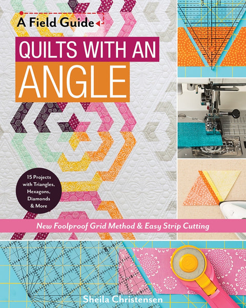 QUILTS WITH AN ANGLE - book