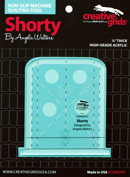 SHORTY MACHINE QUILTING RULER - ruler