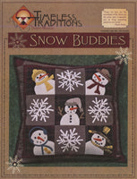 SNOW BUDDIES - wool pillow pattern