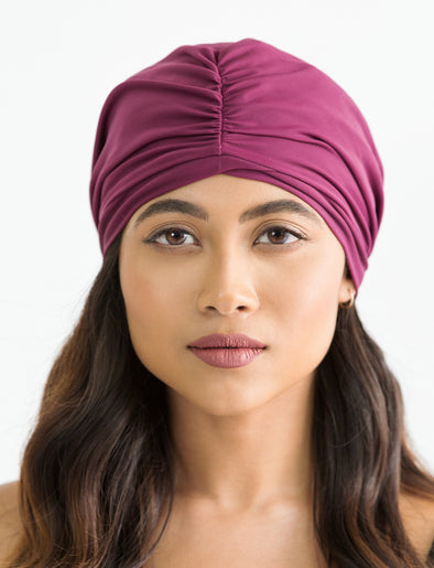 Swim Turban - Purple