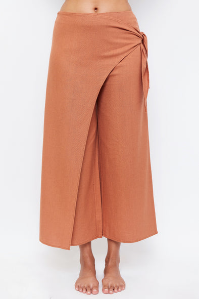 Beach Trousers - Terracotta