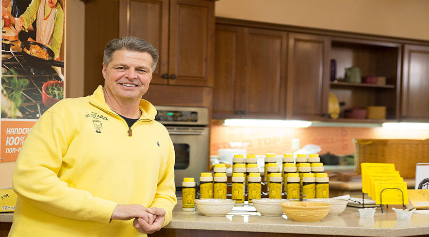 The Mustard Family comes to stores so you can taste the mustard.