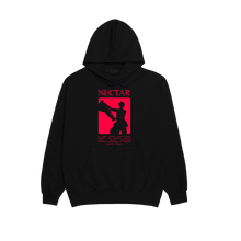 Load image into Gallery viewer, 'NECTAR' RED TRACKLIST HOODIE