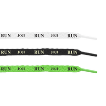 "Load image into Gallery viewer, ""RUN"" SHOELACES 3-SET"