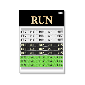 """RUN"" SHOELACES 3-SET"