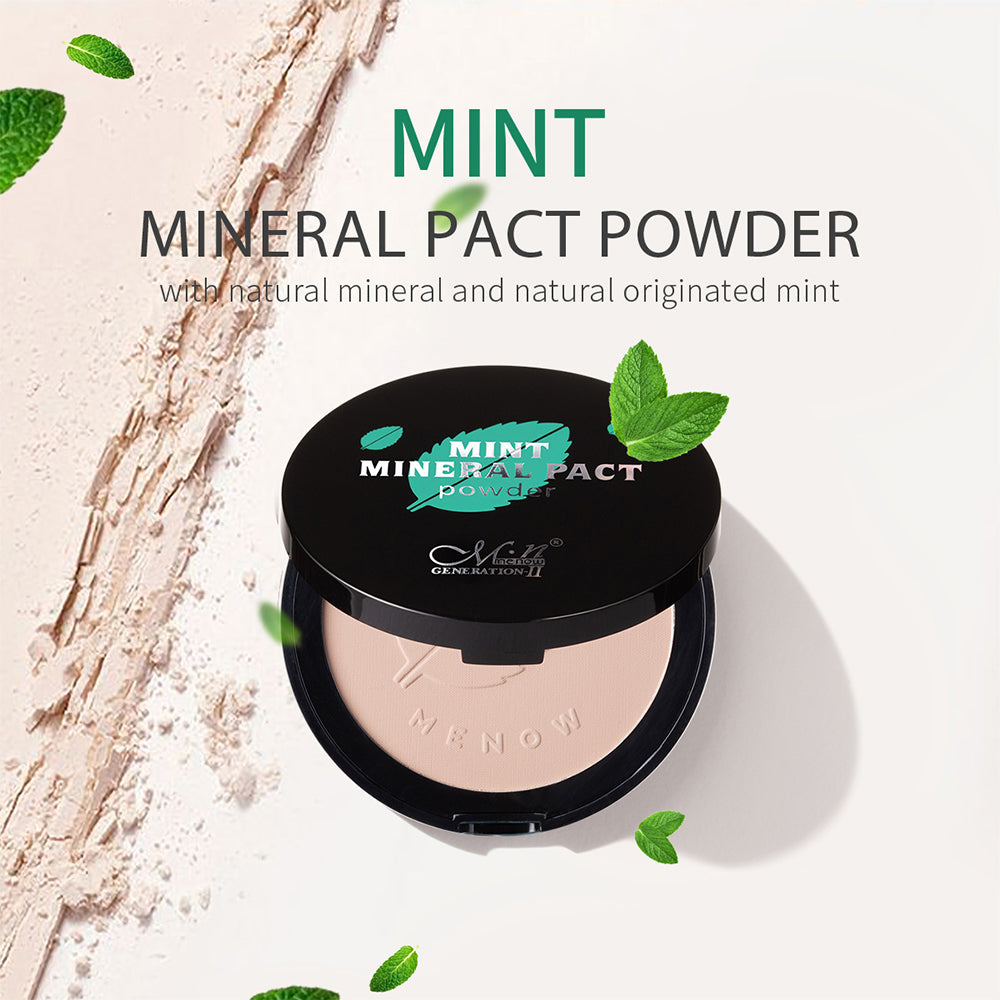 Mint Mineral Pact Powder