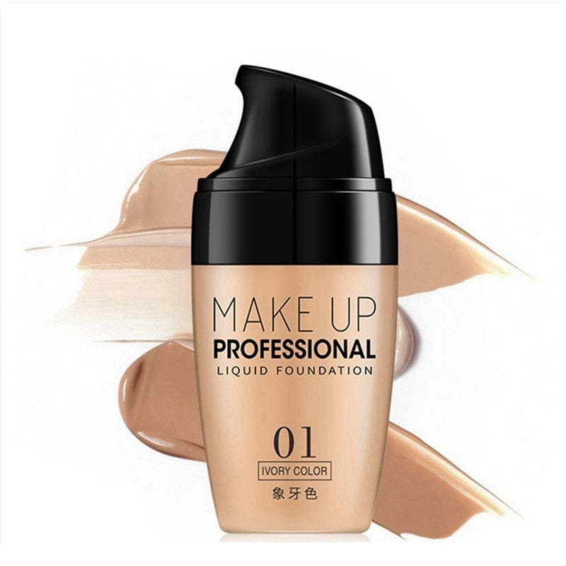 Professional Makeup Full Coverage Matte Base Make Up
