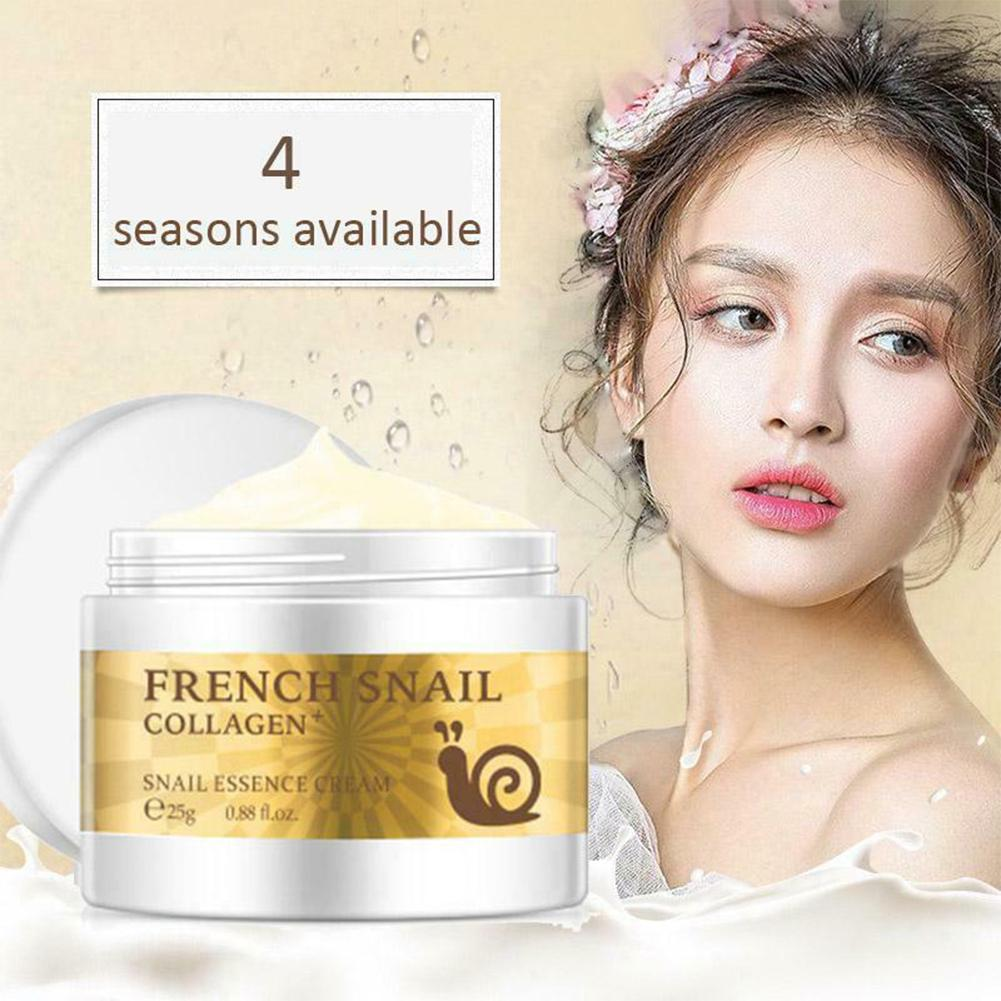 French Snail Collagen Snail Essence Cream