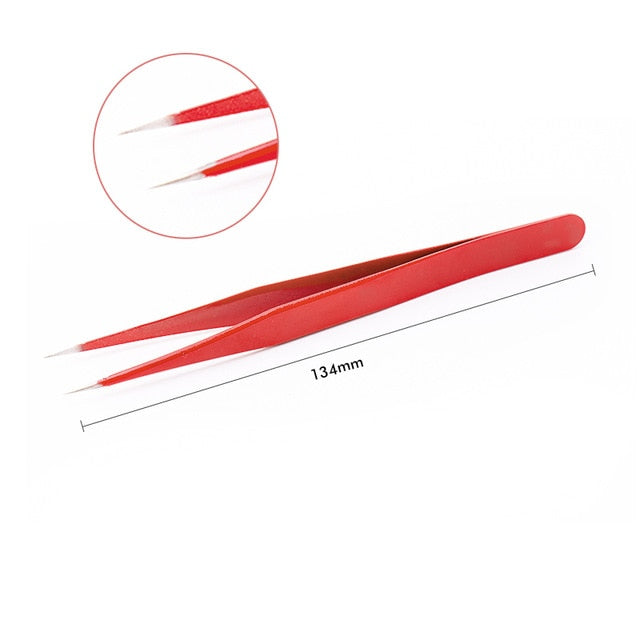 Beauty Precision Tweezers For Eyelash Extension & Eyebrow by Glamchik