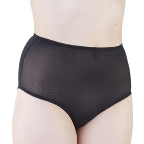 Bettie Page - Mesh Classic Brief Black
