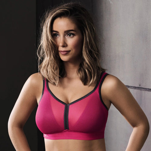 Anita - Air Control Deltapad Maximum Support Sports Bra Pink