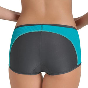 Anita - Active Sports Panty Peacock/Anthracite - FINAL SALE