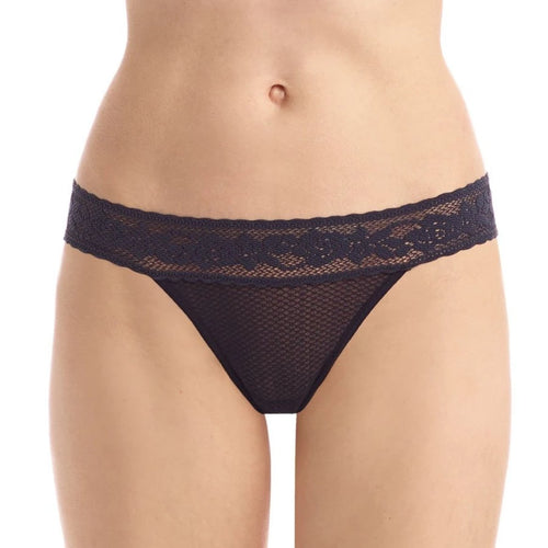 Commando - Kitty Soft Thong Black