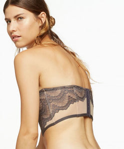 Blush - Loveswept Longline Convertable Bra Night Grey - FINAL SALE