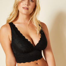Load image into Gallery viewer, Cosabella - Never Say Never Curvy Plungie Bralette Black