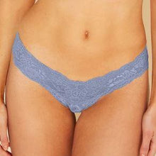 Load image into Gallery viewer, Cosabella - Never Say Never Cutie Low Rise Thong Costal Blue