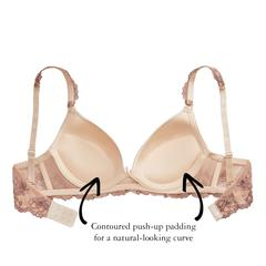 The Little Bra Company - Yvonne Bra Nude/Mocha