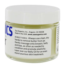 Load image into Gallery viewer, Zoe Organic - Belly Butter