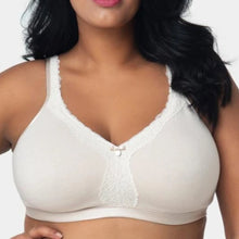 Load image into Gallery viewer, Curvy Couture - Cotton Luxe Unlined Wire Free Bra Natural