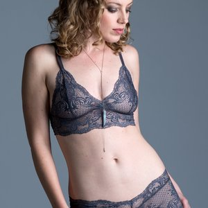 On The Inside Lingerie - Rosa Bra Dove Gray
