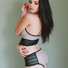 Load image into Gallery viewer, On The Inside Lingerie -  Senna Panties Sheer Gray
