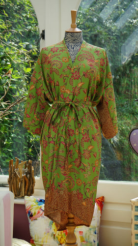 Mango Moon - Robe Green