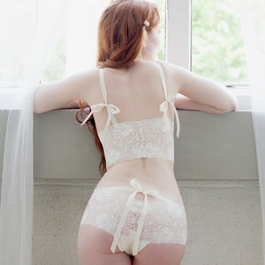 On The Inside Lingerie -  Sugarberry Panties Ivory