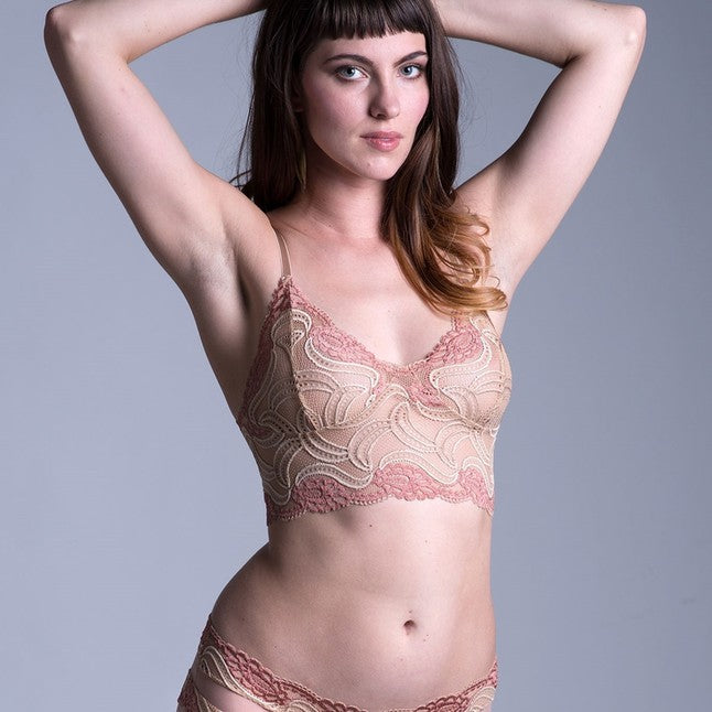 On The Inside Lingerie -  Sassafras Bra Nude