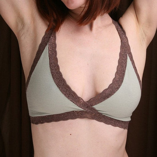 On The Inside Lingerie - Organic Bra Sage