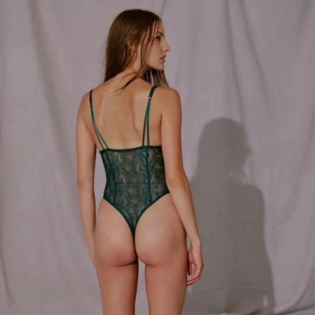 Blush - After Dark Bodysuit Pine - FINAL SALE