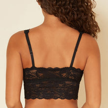 Load image into Gallery viewer, Cosabella - Never Say Never Plungie Longline Bralette Black