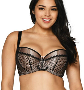 Curvy Kate - Starlight Balcony Bra Black