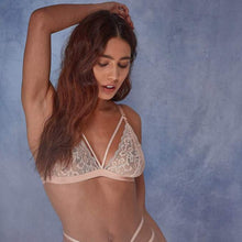 Load image into Gallery viewer, Wolf & Whistle -  Belle Lace Soft Cup Bra Blush