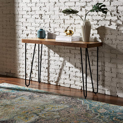 Product of the Day - Rivet Hairpin Amazon Console Table
