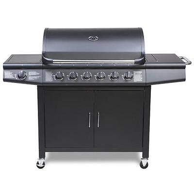 CosmoGrill Barbecue 6+1 Pro Gas Grill - zedhouses