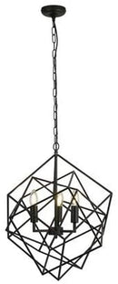 Searchlight 7863-3BK Cube 3 Light | ZedHouses