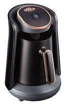 Arzum OK004 Turkish Coffee Machine, Plastic, 480 W, Black/Copper