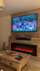 Wärme Firebox Designer Electric Fireplace, Remote Control