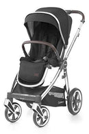 Babystyle Oyster 3 Pushchair Caviar Black on Mirror Chassis