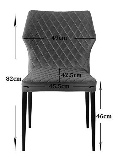 AINPECCA Set of 4 Dining chairs - zedhouses