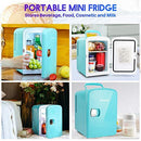 AstroAI Mini Fridge 4 Litre/6 Can Portable AC/DC Powered Thermoelectric System Cooler and Warmer for Cars, Homes, Offices, and Dorms
