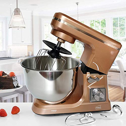 Neo Copper Food Baking Electric Stand Mixer - zedhouses