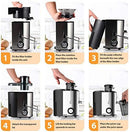 Juicer, Bagotte Juicers Whole Fruit and Vegetable Juicer Machine