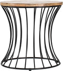 MH London End Table - Wire Cage I Handmade - zedhouses