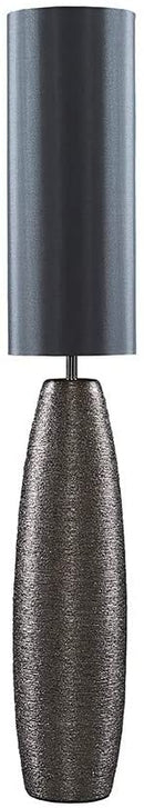 Chrome Effect Ceramic Floor Lamp - zedhouses