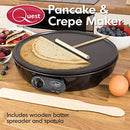 Quest 35540 Traditional Electric Pancake & Crepe Maker